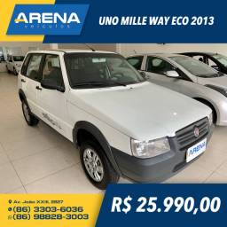 UNO 2013/2013 1.0 MPI MILLE WAY ECONOMY 8V FLEX 4P MANUAL