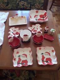 Enfeites e objetos decorativos natalinos e de utilidade