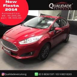 Ford Fiesta  titanium motor 1.6 aut ano 2014