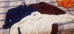Título do anúncio: 03 camisa manga c. Dudalina M num.04 por 60 reais