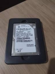 Título do anúncio: HD note 120GB saudável