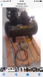 Título do anúncio: Vendo compressor pouco uso muito novo
