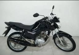 Moto Honda Cg Fan Esdi Preta