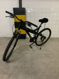 Bike Caloi t-type + capacete + bomba de encher pneu
