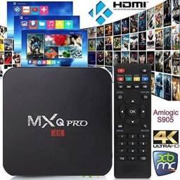 TV box com canais