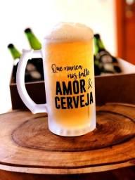 Amor E cerveja  - Caneca personalizada