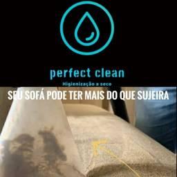 Higienização a seco de estofados em geral