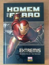 Título do anúncio: Marvel Deluxe:<br>Homem de Ferro - Extremis<br><br>
