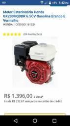 Vendo motor rabeta 6.5 hp novos