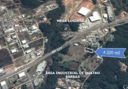 Terreno industrial 4 Barras