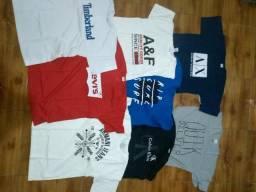 Camisas Multimarcas 100% algodão