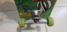 Skate com rodas Bones 51mm