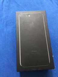 Caixa do IPhone 7 Plus 256gb Jet Black