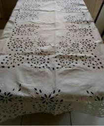 Toalha de mesa bordado para mesa de 4 cadeiras
