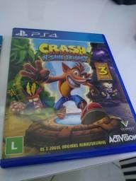 "Jogo PS4 - Crash Bandicoot N""Sane Trilogy"