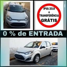 Fiesta 1.0 - S/ entrada, IPVA e Transferência GRÁTIS - 2011