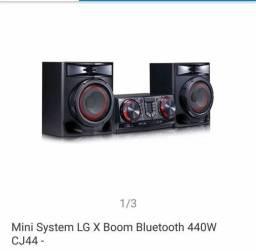 Vendo ou troco som LG xboom 440 rms