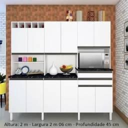 Armário de Cozinha 12 portas Malbec