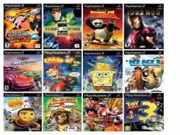 Jogos para pendriver cd ou hd tenho varios titulos de ps2 valor 5,00