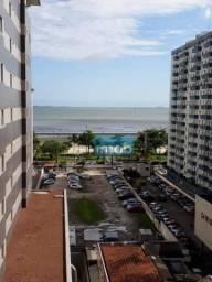 Apartamento de frente, andar alto e vista parcial mar