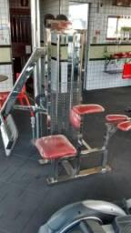 Equipamento de musculação 100%INOX