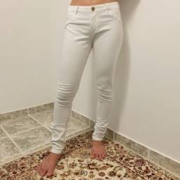 Calça Branca Skinny (cintura baixa)