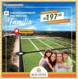 Lotes em Boa Vista- Pronto para construir @!#@!