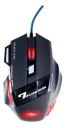 Mouse Gamer Jogos 6 Botões 4000 Dpi Botão Usb - Loja Natan Abreu
