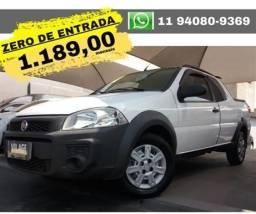 Fiat Strada Working 1.4 Cabine Dupla flex2014 2015