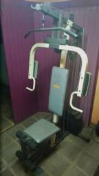 Estação de academia musculação WEIDER