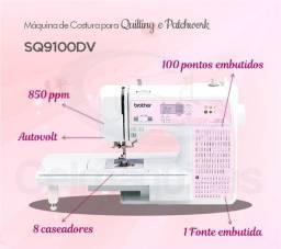 Máquina de Costurar para Quilting e Patchwork Brother SQ9100, 3 meses de Uso