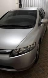 Honda Civic 1.8 LXS prata muito novo, zero
