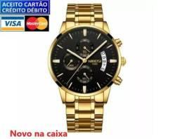 Relógio Masculino Nibosi 100%funcional