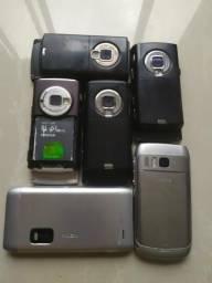 Nokias relíquias de 30 60 80 100 150
