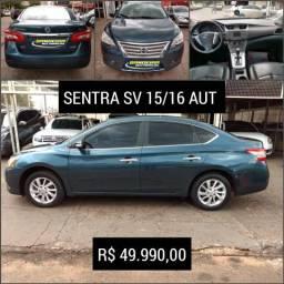 Nissan Sentra SV AUT 15/16 R$ 49.990,00 - 2016