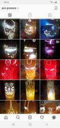 Luminarias em pvc