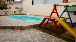 Alugo mensal casa com piscina na praia Guaratuba Até novembro