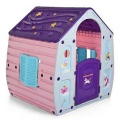 Casinha de Brinquedo Unicornio Infantil