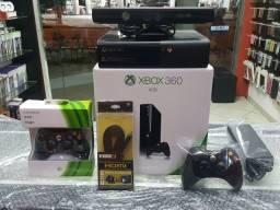 Xbox 360 Completo com Kinect/Destravado c/HD 500GB com 8000 Jogos(Garantia da GameStop) comprar usado  Vitória