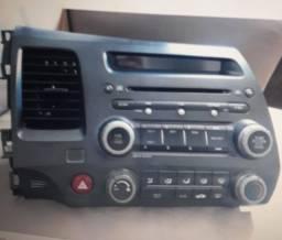 Vendo Rádio Original do New Civic, + Difusor do Ar Condicionado