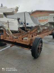 Carreta para barco de 46 pés