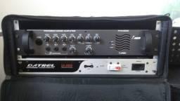 Amplificador + régua + case