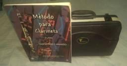 Clarinete Eagle Sib 17 Chaves + Case + Método p/ clarinete