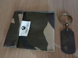 Kit brindes especiais do XBOX - Chaveiro e bolso case