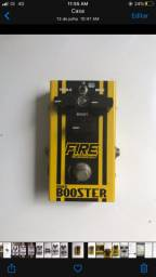 Pedal booster fire