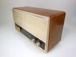 Rádio Antigo Philips Valvulado Funciona 110/220V