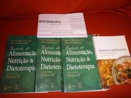 Vendo livros de nutrição