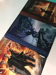 Livros da Saga Percy Jackson