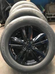 Jogo rodas aro 215/60 R17 originais mitsubishi asx