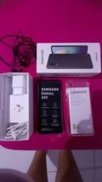Samsung A02 na caixa e c/ nota fiscal